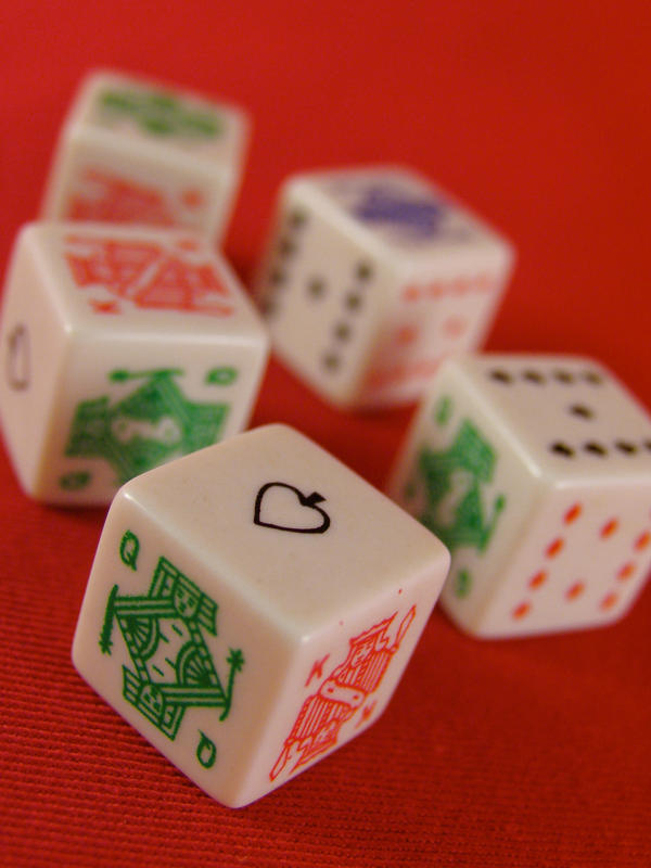 Stock - Dice Series 9 by mystockphotos