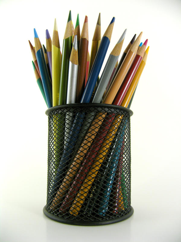 Stock - Pencil Crayon Series 1 by mystockphotos
