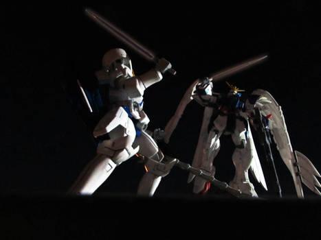 Wing Zero custom vs Tallgesse III