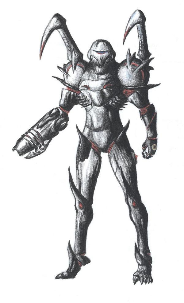 Samus Prime by CrimsonVVings