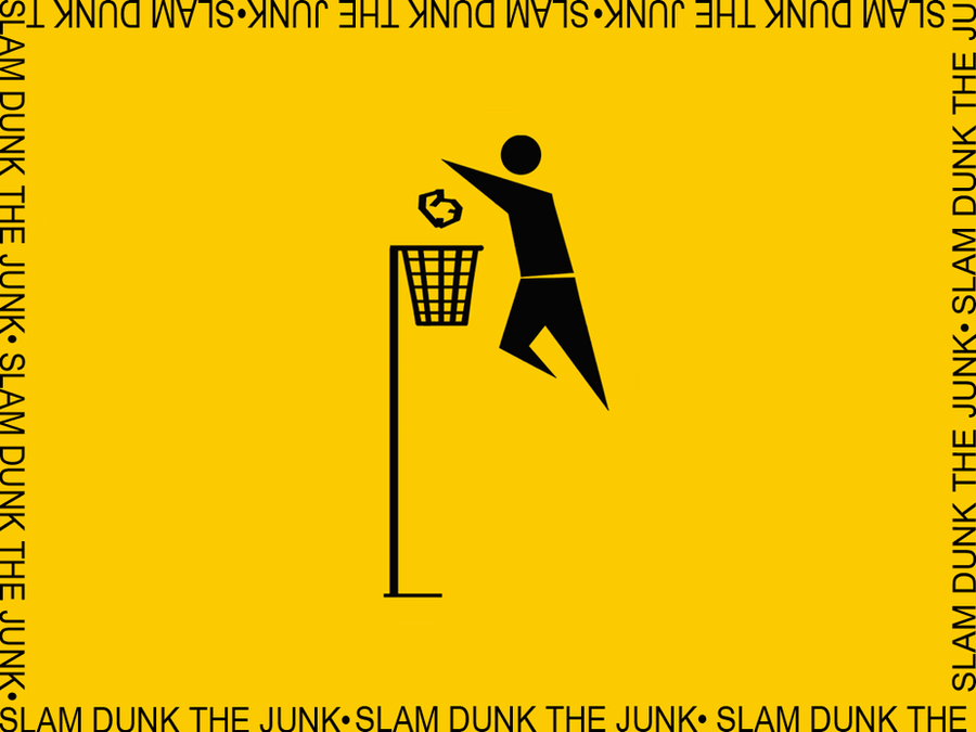 Slam Dunk the Junk by riro0 on DeviantArt