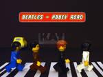 Beatles Abbey Road - Lego by mckatalyn