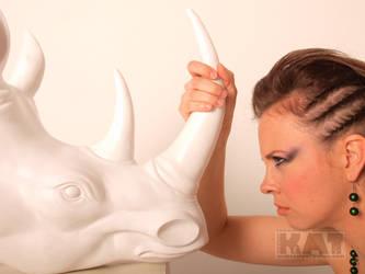 Aleksandra 04 - The Rhino by mckatalyn