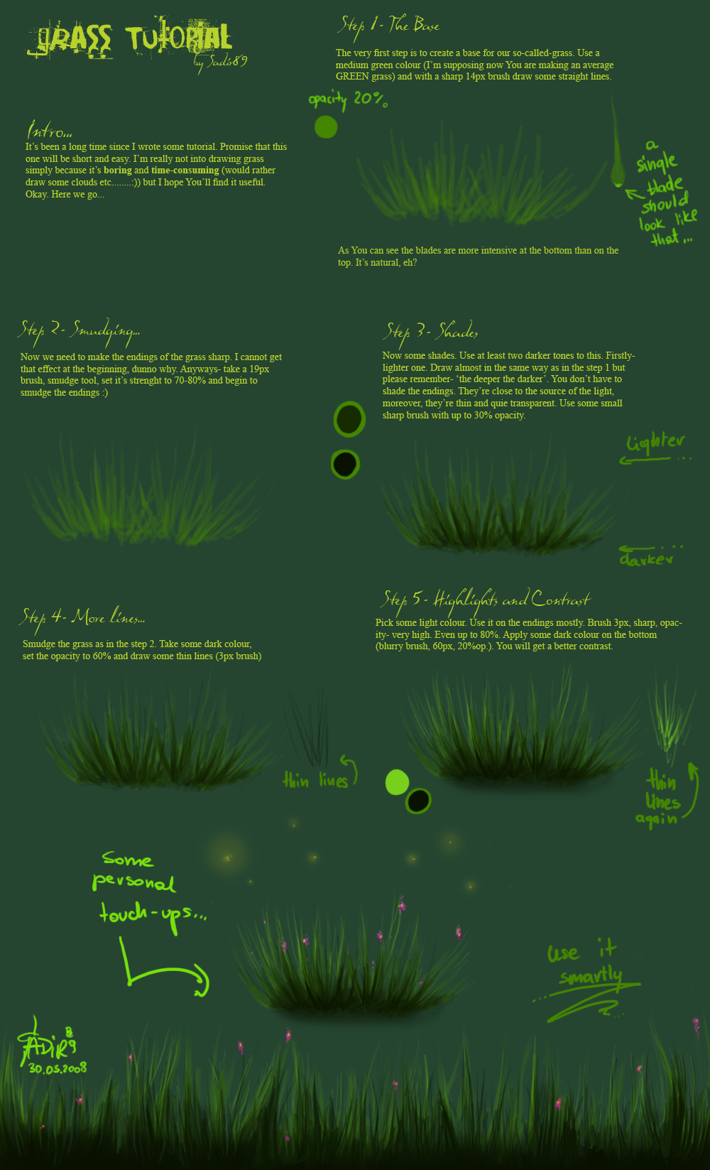 Grass tutorial by Sadir89