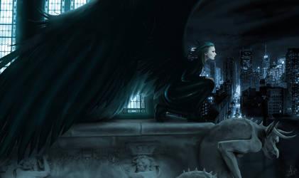 Night stalker by Sadir89