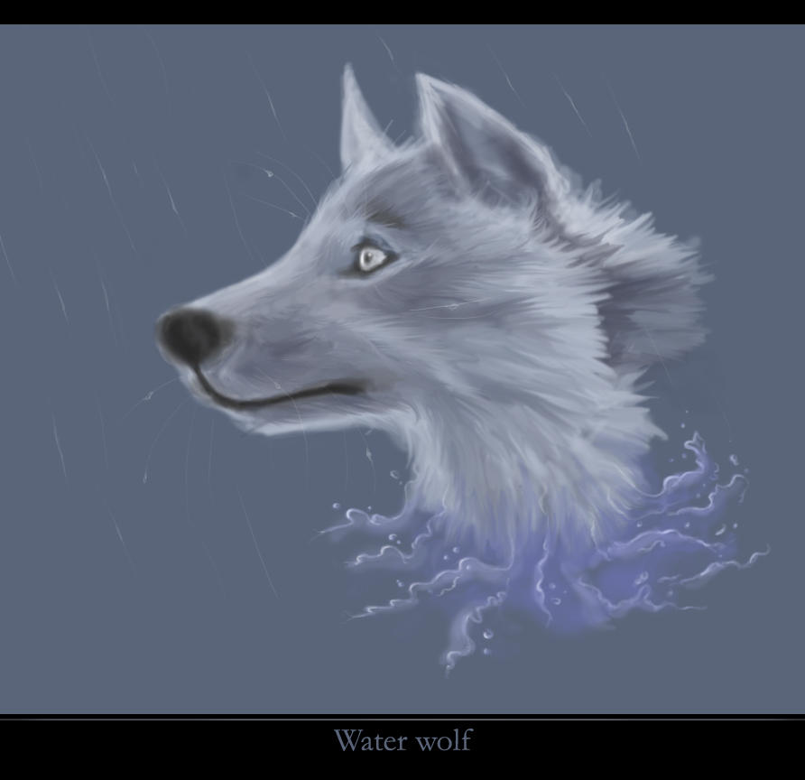 Water Wolf by Sadir89