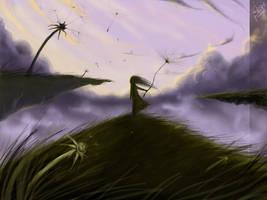 Dandelions' fly by Sadir89