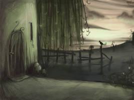 Gloomy house by Sadir89