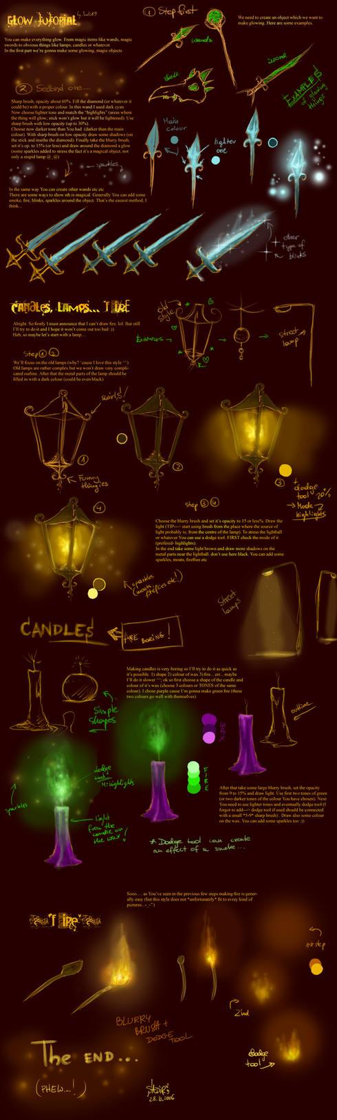 Glow tutorial by Sadir89