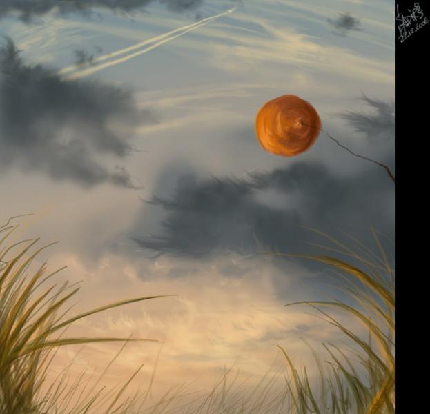 Goodbye, blue sky by Sadir89