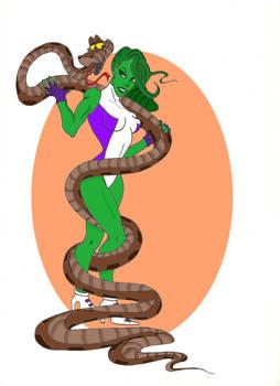 She-Hulk and KAA
