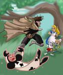 Gambit in Wonderland by Gilliland35