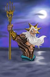 King Triton Aquaman by Gilliland35