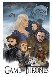 Game of Thrones by Gilliland35