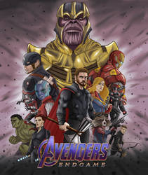 Avengers Endgame by Gilliland35