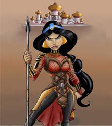 Wakandan Jasmine by Gilliland35