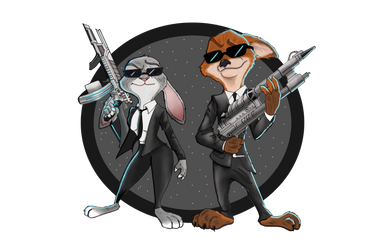 Zootopia in Black by Gilliland35