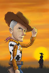 Old Man Woody by Gilliland35