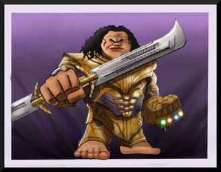 Maui Thanos by Gilliland35