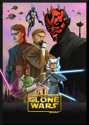 The clone wars by Gilliland35