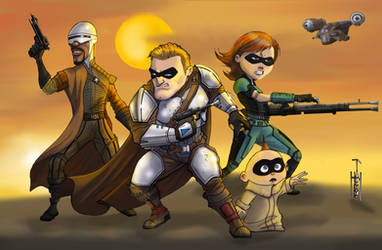 The Incredible Mandalorians by Gilliland35