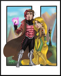 Tangled X-Men by Gilliland35