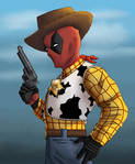 Toy story Deadpool by Gilliland35