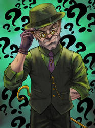 The Riddler by Gilliland35