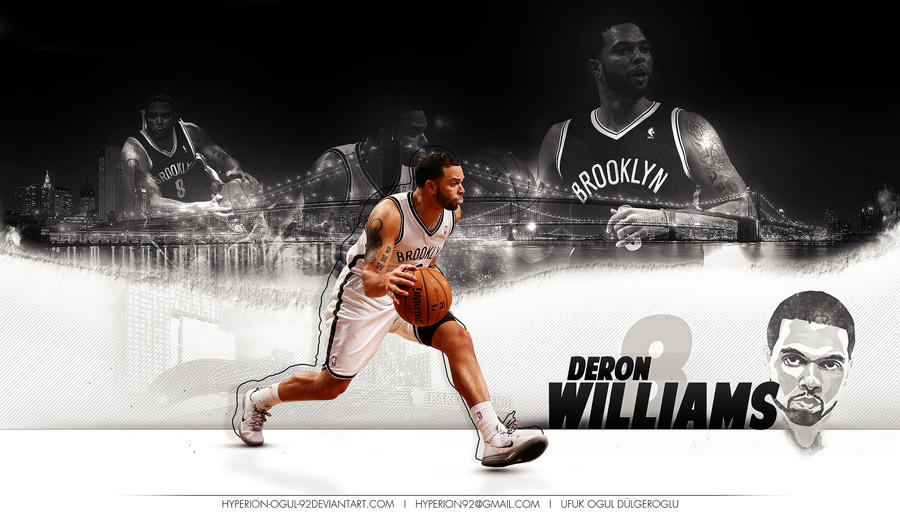 Deron Williams Wallpaper by hyperion-ogul-92