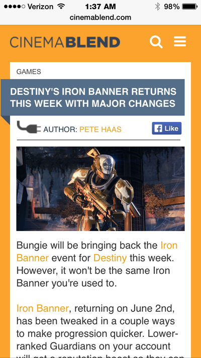 THE IRON BANNER! by SympathyBMW