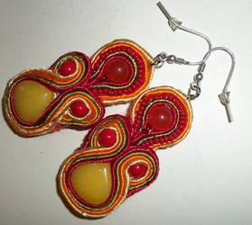Soutache earrings n1