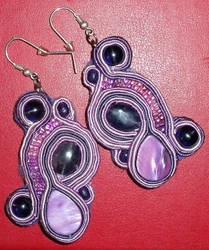 Soutache earrings n2