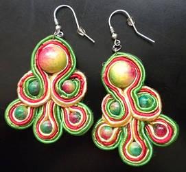 Soutache earrings n3