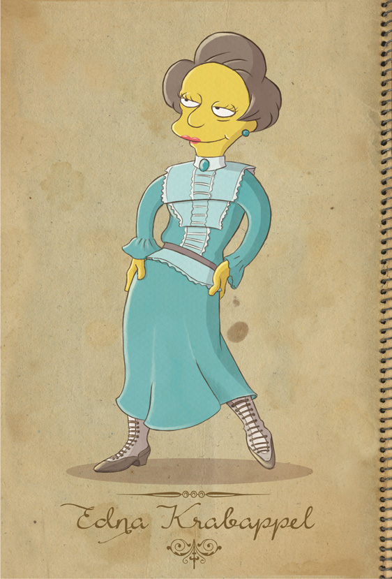 Edna Krabappel by Conny-from-France