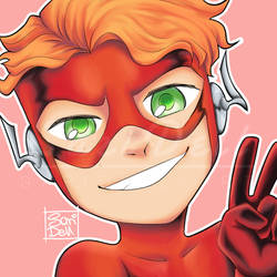 Flash - Titans Week by SariDell