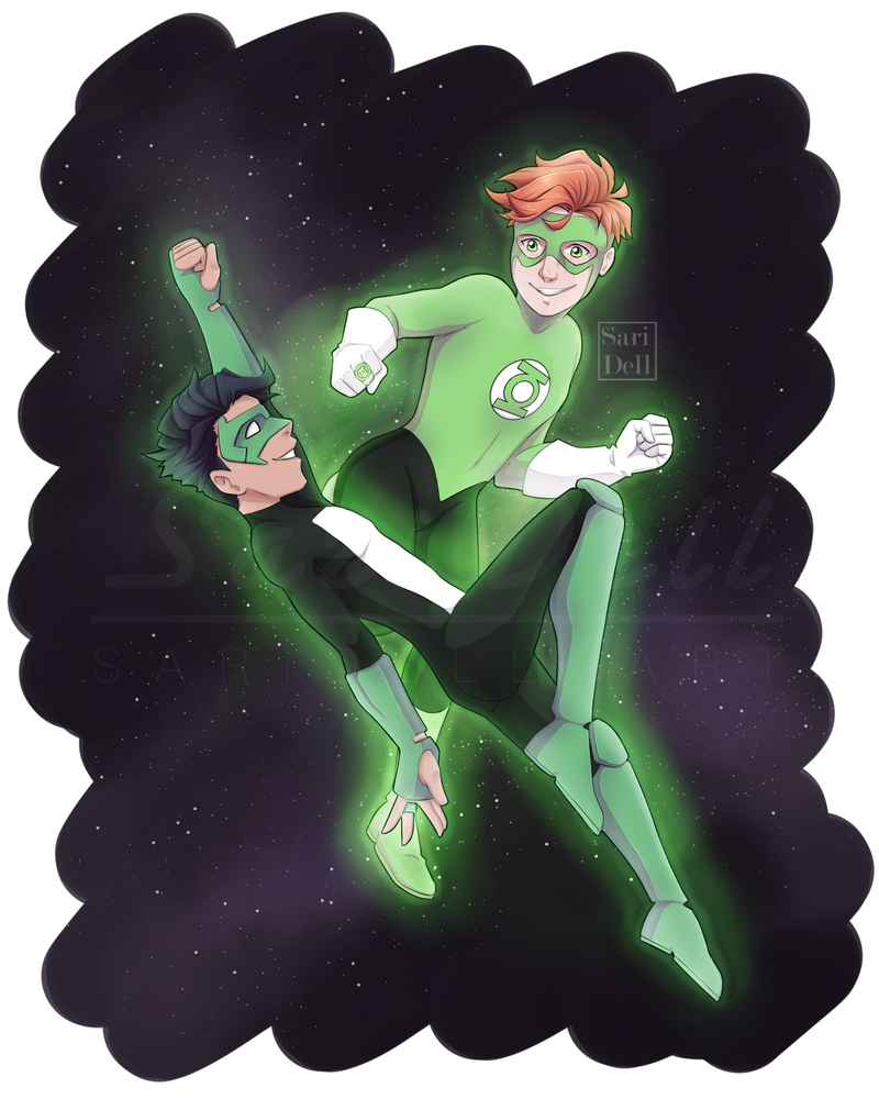 Green Lanterns by SariDell