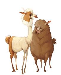 fabulous llamas by E-a-s-y