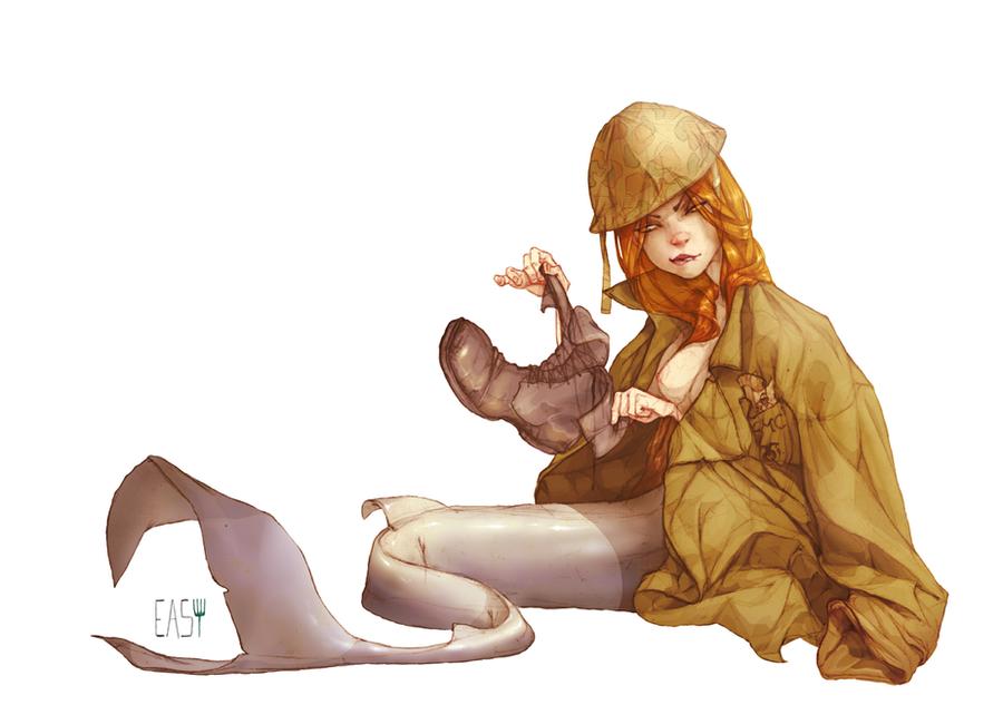 mermaid2 by E-a-s-y