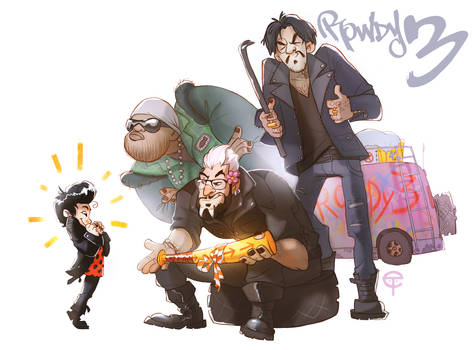 The Rowdy 3