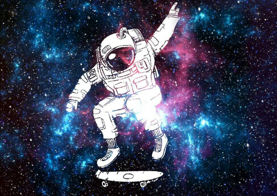 astronaut lost in space wallpaper - photo #11