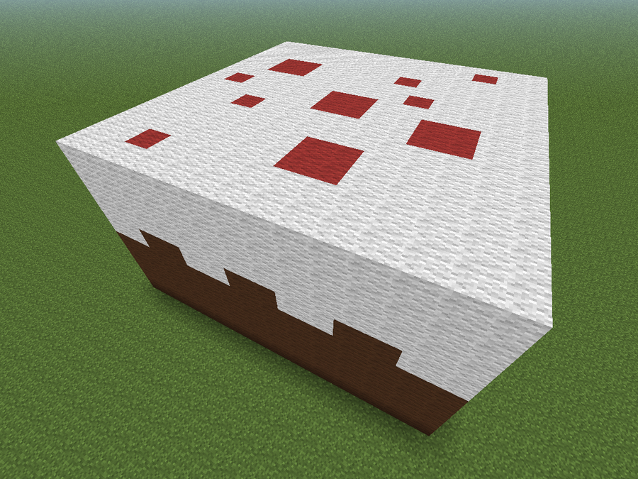 Cake [Minecraft] by conxdemixta on DeviantArt