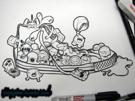 doodle: shoe design