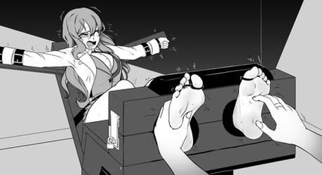 Futaba tickled by Kusujinn