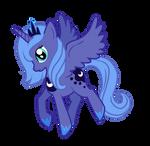 Melancholy Princess Luna