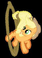 Applejack Rope Twirl Complete by Jaelachan