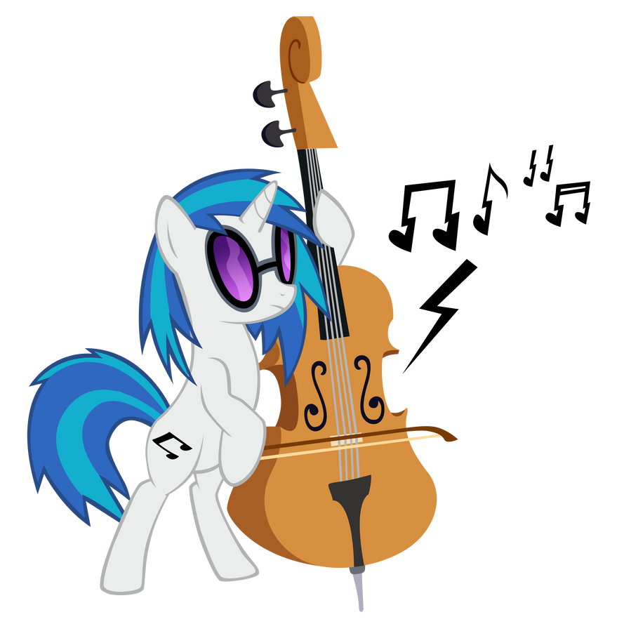Vinyl Scratch, Part One by Jaelachan