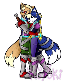 COMM: Fox McCloud and Krystal