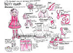 BJD fashion design Petit Four by brokensymphony