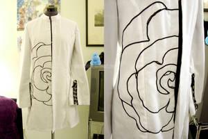 Rose jacket by brokensymphony