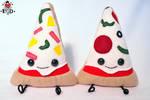 pizza slice pair